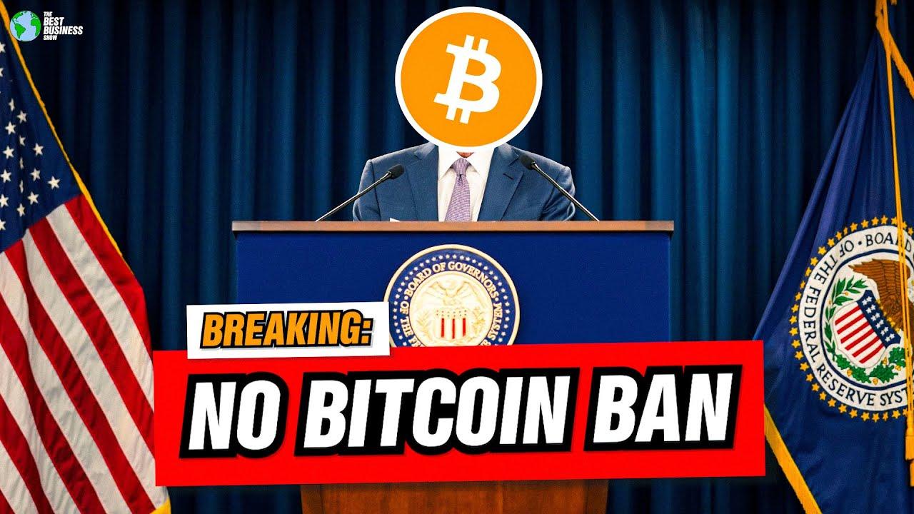 BREAKING NEWS: United States Will Not Prohibit Bitcoin thumbnail