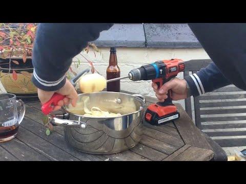 Умный лайфхак: скоростная чистка картофеля