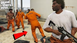 CAN YOU ESCAPE FROM JAIL!? - GTA 5 Mods