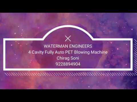 4 Cavity Fully Automatic Blowing Machine