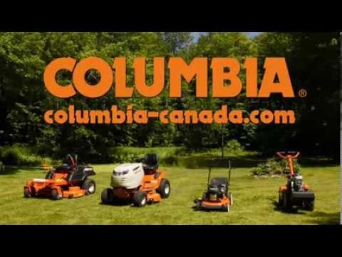 Columbia Tracteur de pelouse