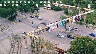 ДТП (авария г. Волжский) ул. Карбышева ул. Академика Королева 13-06-2017 18-58