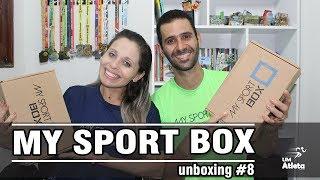 CAIXINHAS BEM RECHEADAS | MY SPORT BOX | UNBOXING #10 | Um Atleta