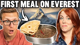 Recreating The First Meal On Mount Everest