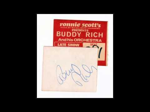 Buddy Rich SPEAKS at Ronnie Scott's Club - 1972