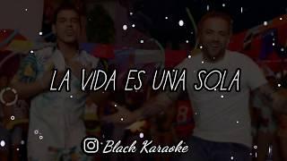 """Nacho   La Vida Es Una Sola (Letra  Karaoke) Ft. Tito """"El Bambino"""""""