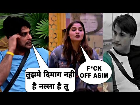 Bigg Boss 13 Today Episode, Asim Riaz Vs Aarti Singh Big Fight, Siddharth Got Angry On Asim Riaz