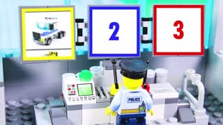 LEGO Experimental Vehicles STOP MOTION LEGO Trucks, Police Car & More | Billy Bricks Compilations