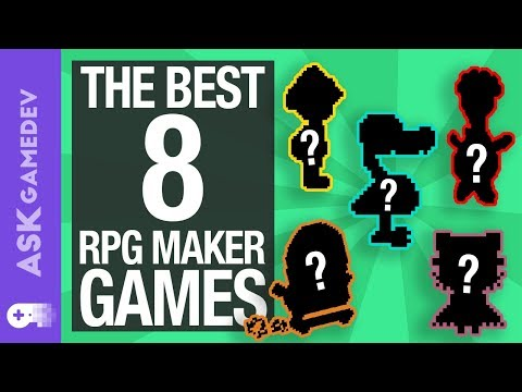 The Top 8 RPG Maker Games [2018]