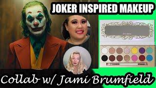 JOKER INSPIRED MAKEUP    Clown Makeup Collab W/ Jami Brumfield    Ayyyeeeitsamanda
