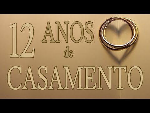 Aniversário De Casamento De 12 Anos Para Marido Mensagens De