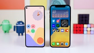 Android 12 vs iOS 15 - Detailed Comparison