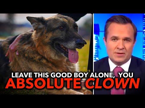"Newsmax Goons Make Fun of Joe Biden's ""Unpresidential,"" ""Junkyard"" Dog"