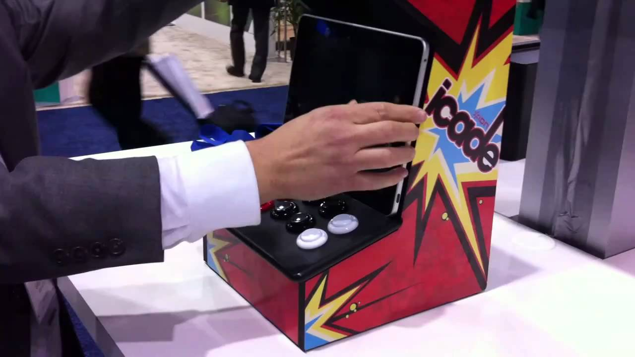 ICade Makes Your IPad Feel Like A Real Arcade Machine