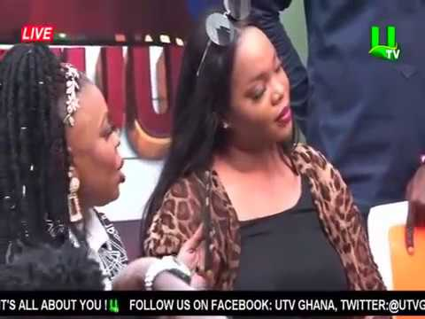 Jackie Appiah Wins Musical Chairs Game At UTV day With The Stars