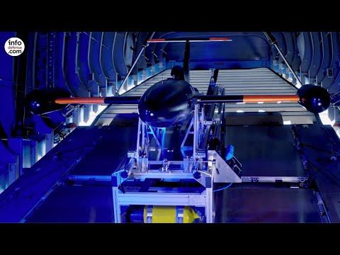 Airbus desarrolla un lanzador de UAV para el A400M