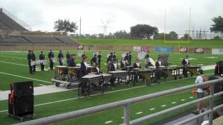 Wakeland Band Drumline @ Plano Drumline Competition - Sept 25, 2010