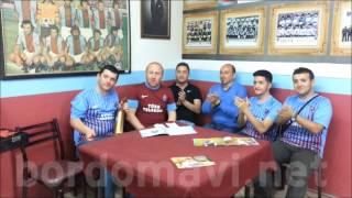 Trabzonsporlular'dan Final Öncesi Moral Bestesi