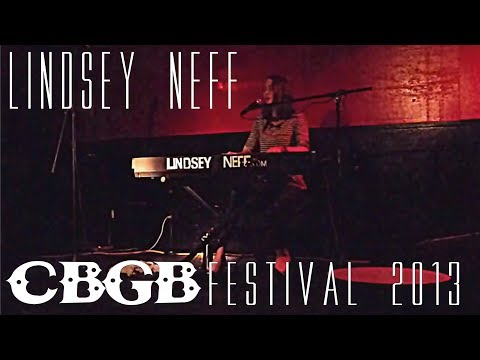 Lindsey Neff Performs at The Pyramid Club for CBGB Festival