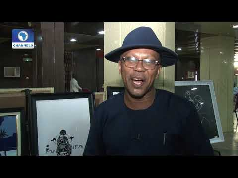 See Exclusive '99' Exhibition By Artist Sylvester Aguddah