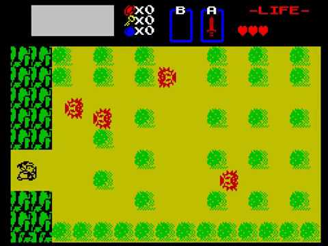 Legend of Zelda - ZX Spectrum (WIP)