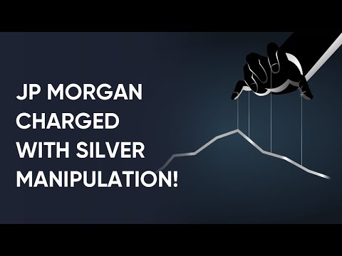 Silver Price Manipulation - JPMorgan Traders Charged!