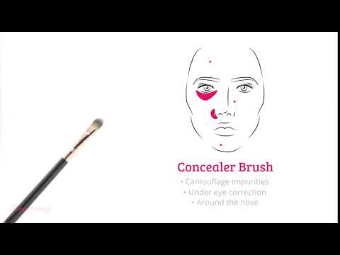 Boozyshop Boozyshop Ultimate Pro UP03 Concealer Brush