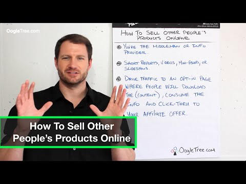 How To Sell Other People's Products Online