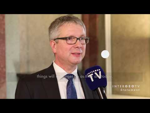 Geoinformation represents the core DNA of the digital revolution - INTERGEO TV Interview