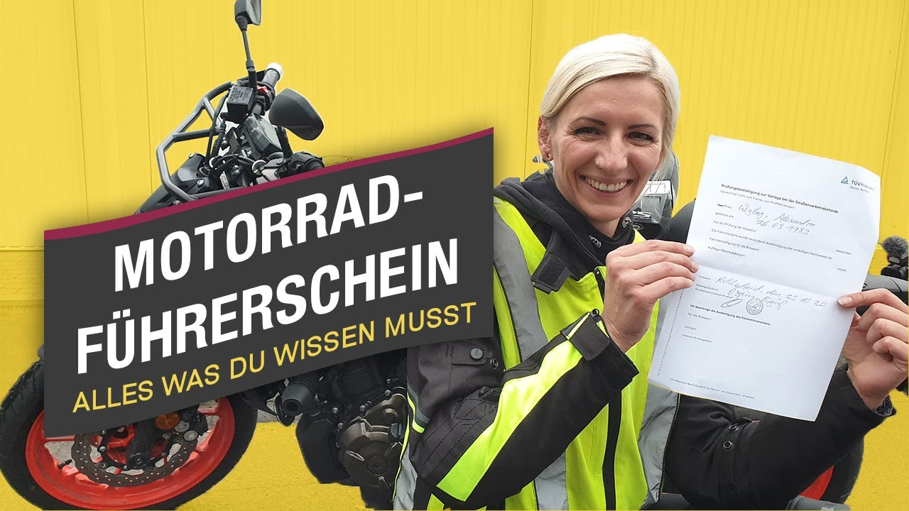 Video: Motorradführerschein mit Jens Kuck