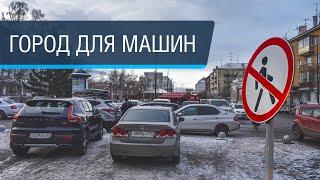 Прогулка по Красноярску перед Универсиадой