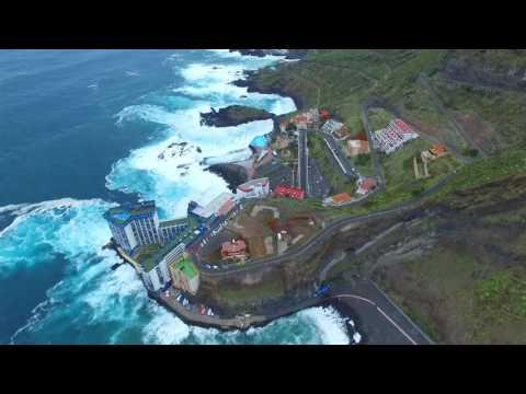Mesa del Mar, una playa, una piscina... Tacoronte. Tenerife.