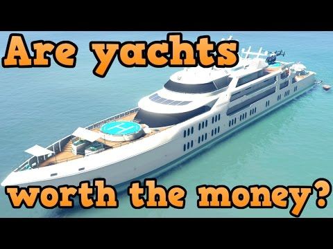 GTA online guides – Yachts! worth it or not?