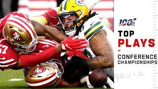 Top Plays from the Conference Championships | NFL 2019 Playoffs