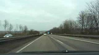preview picture of video 'A63 Alzey - Mainz'