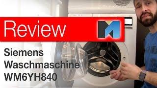 Review: Siemens IQ800 Waschmaschine WM6YH840 [deutsch]