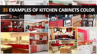 35 The Examples Of Kitchen Cabinets Color (Bright Colors Edition) - DecoNatic