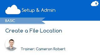 How to Create a File Location in Salesforce Marketing Cloud