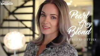 Pearl Grey Blond by Berni Ottjes L\'Oréal Professionnel
