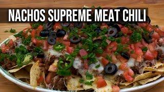 Nachos Supreme Meat Chili recipe by the BBQ Pit Boys