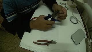 Как изготовить мормышку лесотку