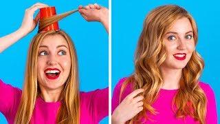 Dicas de beleza divertidas || Truques Femininos Inteligentes por 123 GO!