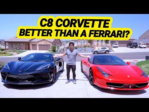 2020 C8 Corvette Vs Ferrari 458 How Does It Stack Up Midenginecorvetteforum Com