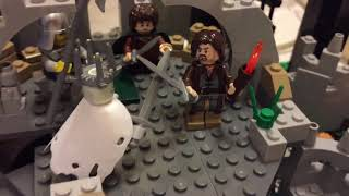 Lego Lord of the Rings Custom Attack on Weathertop (Фэнтези Битва Лего)