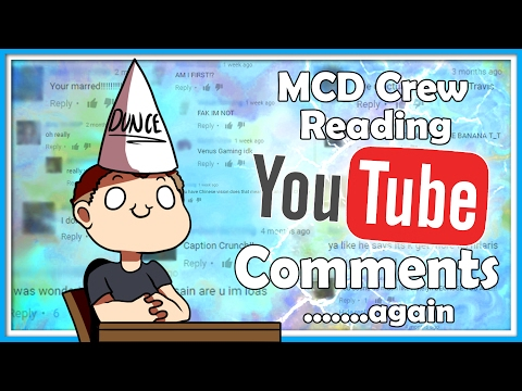 MCD Crew Read YouTube Comments....again