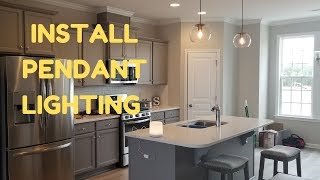 How To Install PENDANT Lighting | DIY