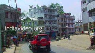 Thuampui Street, Aizawl, Mizoram