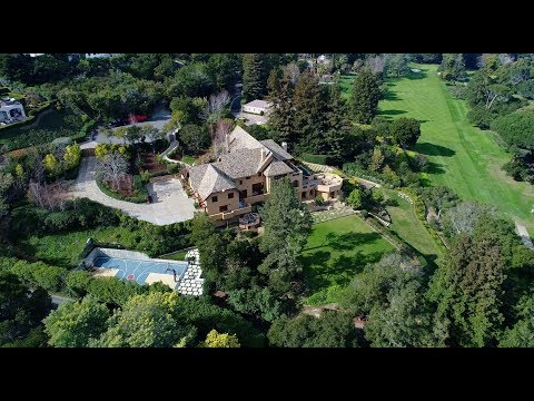 171 New Place Road - Hillsborough, CA by Douglas Thron drone real estate cinematography