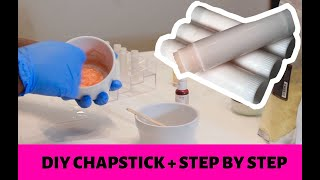 DIY: HOW TO MAKE CHAPSTICK + LIP BALM | STEP BY STEP