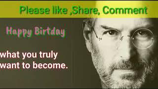 Steve Jobs Whattsup Birthday Status l Apple Founder Birthday quotes & Status l Latest update 2019
